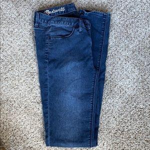 Madewell legging jeans. Size 26. Medium rinse
